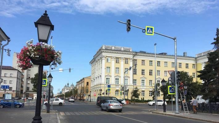 Первый светофор на улице Кремлевская пока так и не заработал