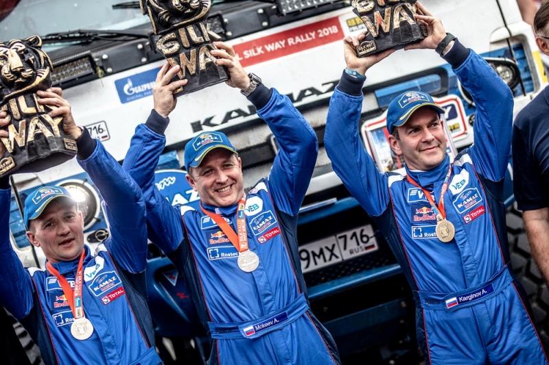Экипаж Андрея Каргинова – победитель ралли «Шелковый путь 2018»