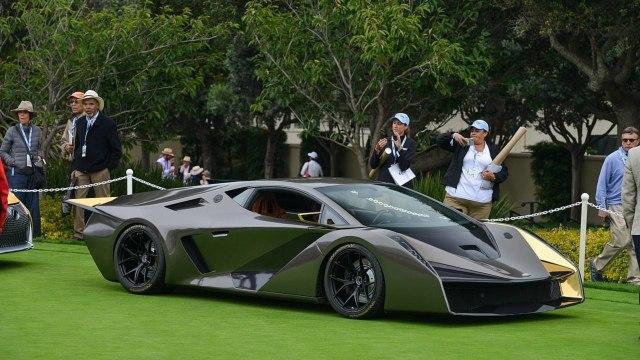 Salaff C2 – новый суперкар на базе Lamborghini