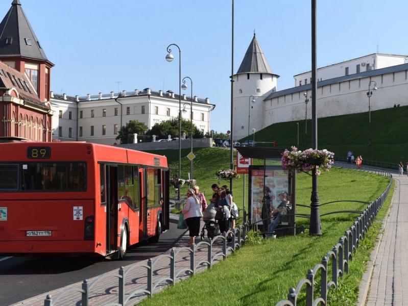 В Казани на день изменят маршруты трех автобусов