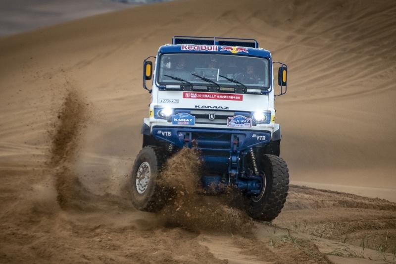 Андрей Каргинов лидирует после третьего этапа «Шелкового пути»