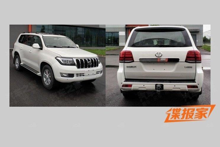 Китайский клон Toyota Land Cruiser 200 готовится к выходу