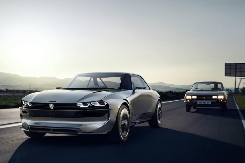 Peugeot сделал ретро-электрокар по мотивам классической модели