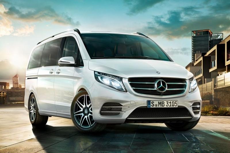 У Mercedes-Benz были проблемы с продажей V-Class в России
