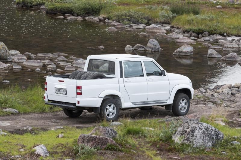 УАЗ сертифицировал Pickup для экспорта в страны Евросоюза