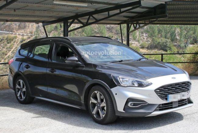 В Сети появились первые фото внедорожника-универсала Ford Focus Active