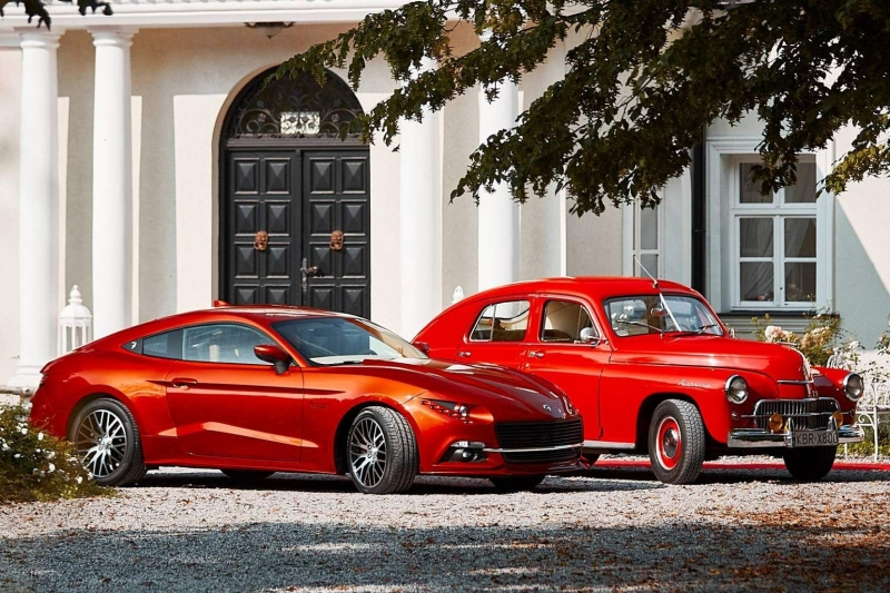 В Польше сделали из Ford Mustang аналог местной «Победы»
