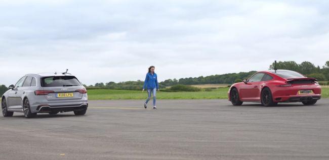 Битва на прямой: Audi RS4 выходит против Porsche 911 GTS