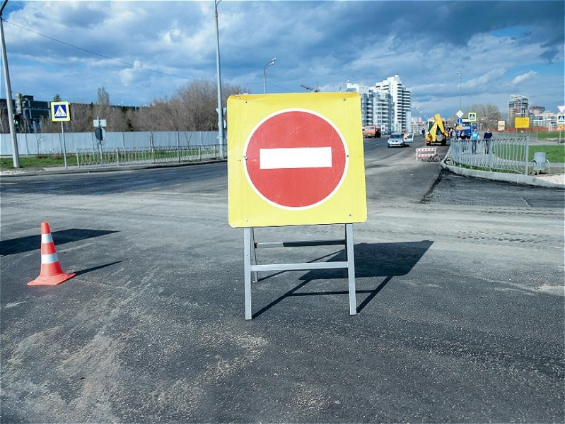 В Казани продлили ограничение движения по улице Назарбаева