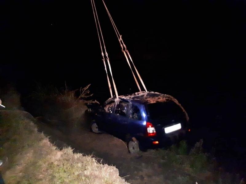 В Татарстане два парня погибли в «Ладе», упавшей с обрыва