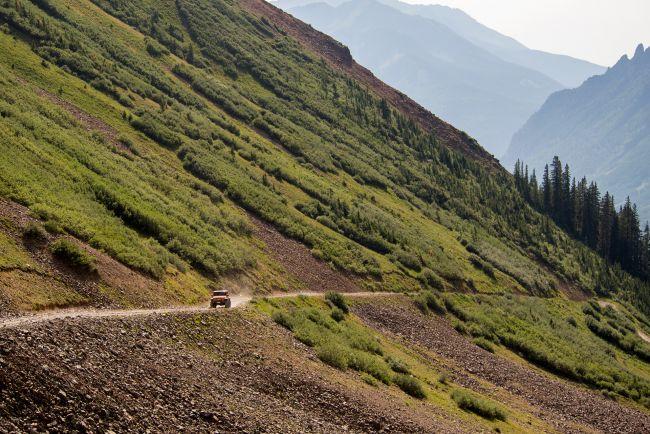 Русские на «Диком западе». Тест-драйв нового Jeep Wrangler.