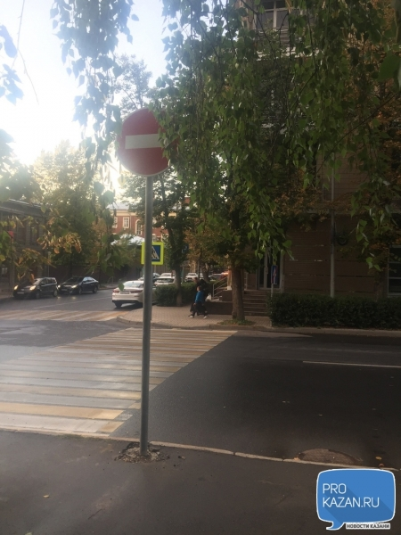 «Все едут по привычке»: на улице Муштари изменился порядок движения