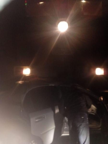 Под Казанью водитель Chevrolet врезался в поезд, а после сбежал из больницы