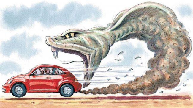 Ученые заявили, что дизельный мотор по-прежнему убивает людей