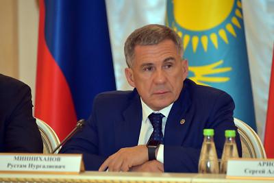 Минниханов: Убежден, что заседание комиссии укрепит отношения России и Казахстана