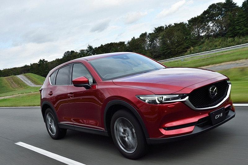 Mazda CX-5 обновилась и обзавелась новым турбомотором