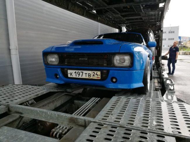 Безумная реальность превращение BMW  в Москвич