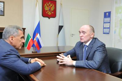 Челябинская область готова удвоить товарооборот с Татарстаном до 60 млрд рублей