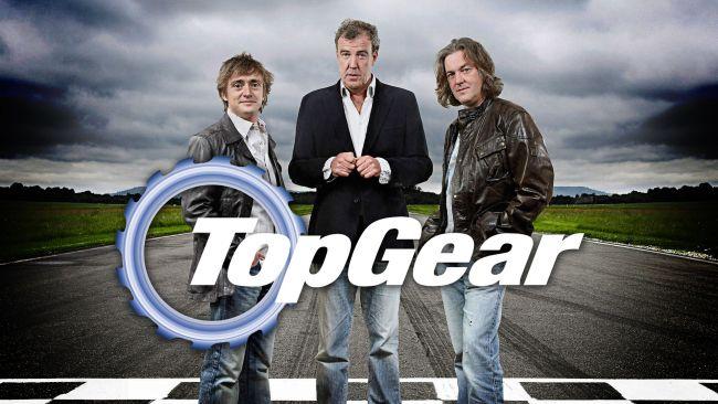 Знаменитое автомобильное шоу Top gear на грани