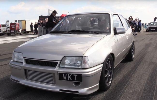 Мощный OPEL – достойная конкуренция Bugatti