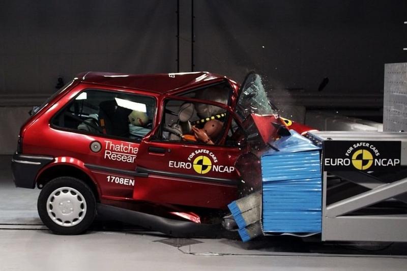 Euro NCAP: на проверенных нами машинах бывают детали с маркировкой «только для краш-тестов»