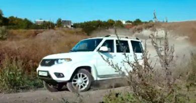 Обновленный UAZ Patriot проверили на кроссовой трассе (ВИДЕО)