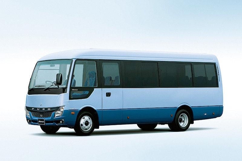 Автобус Mitsubishi Fuso Rosa пережил рестайлинг (первый за 21 год производства)