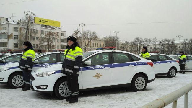 Московским полицейским купили пуленепробиваемые автомобили