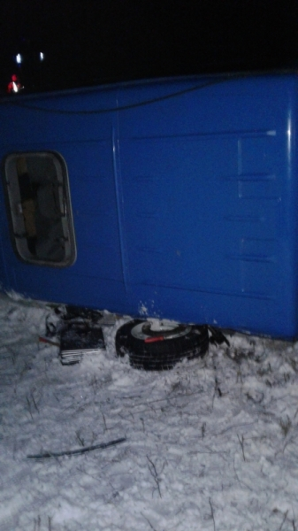 В Татарстане в «Газели», опрокинувшейся на дороге, погиб пассажир