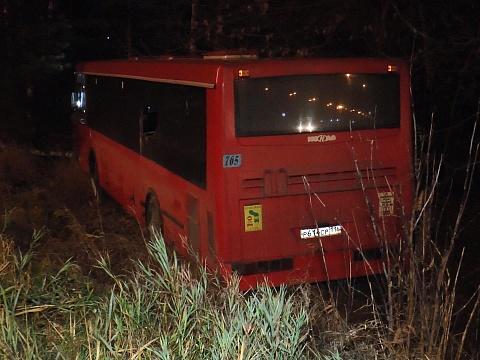 В Казани водитель автобуса потерял сознание прямо за рулем