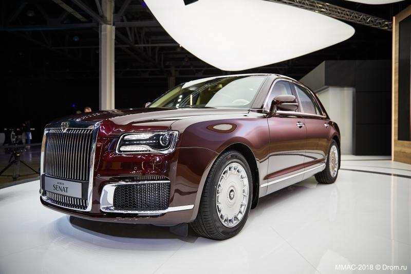 Глава Минпромторга подтвердил, что бренд Aurus примет участие в Женевском автосалоне 2019 года