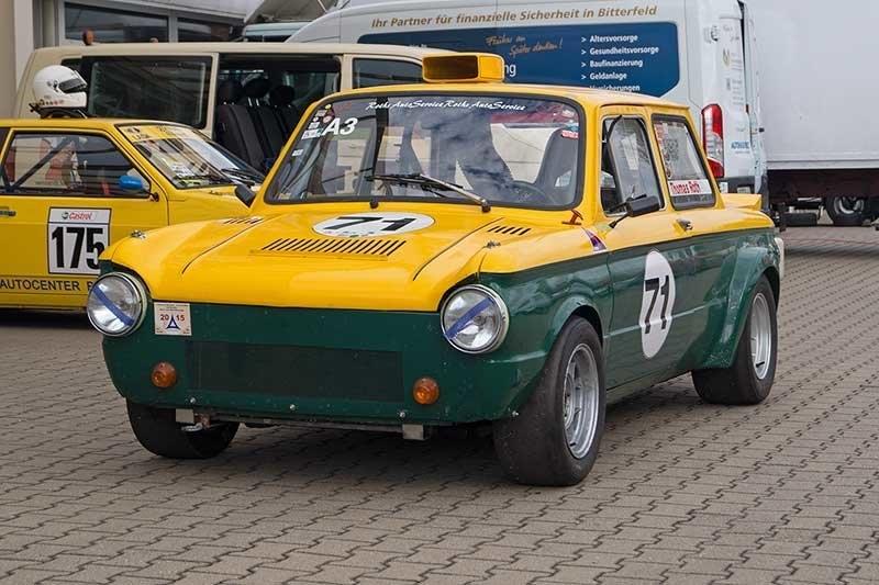 Sappo-Lada — кольцевой болид из ГДР (с кузовом от «Запорожца» и двигателем от Lada)