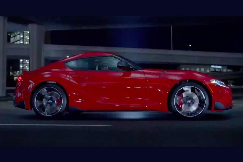 Toyota выпустила официальное видео с серийной Supra