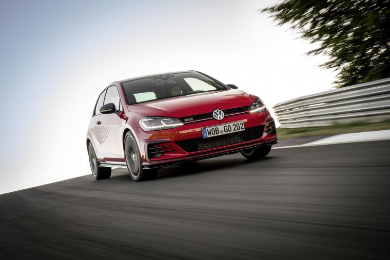 Спецверсия Volkswagen Golf GTI TCR стала лебединой песней седьмого «Гольфа»