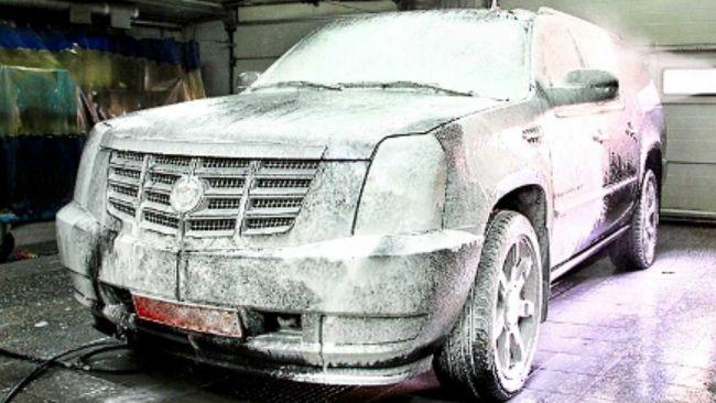 Как правильно помыть машину зимой?