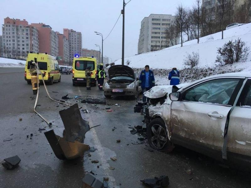 На улице Вишневского в столкновении двух Nissan погиб один из водителей