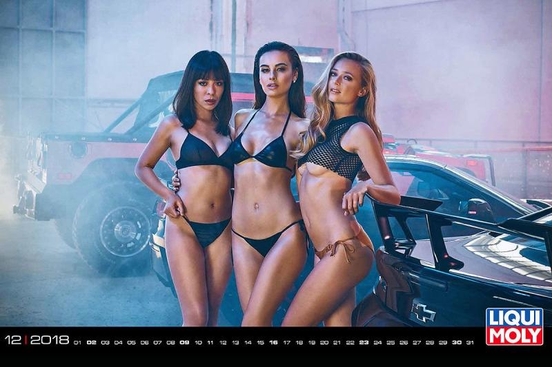 Немецкий Auto Bild сделал подборку из «правильных» календарей с девушками