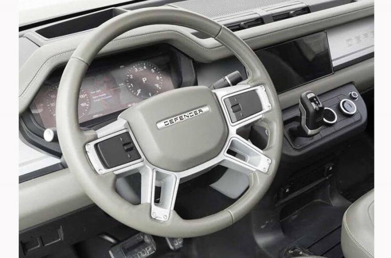 Land Rover пригрозил юристами дизайнеру, рассекретившему салон нового Defender