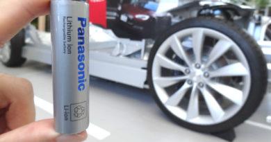 Tesla втайне разрабатывает собственные батареи