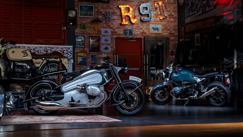 Новый мотоцикл NMOTO Nostalgia 2020 представлен официально