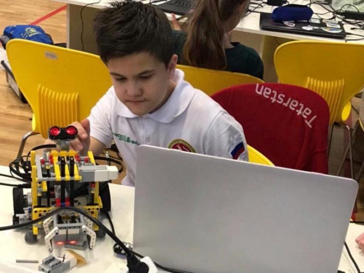 Никита Быльнов из Казани стал призером Московской олимпиады школьников по робототехнике