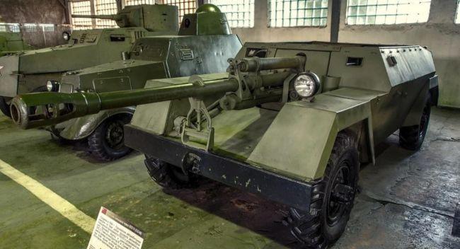 Удивительный советский колёсный истребитель танков ГАЗ-68