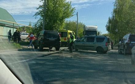 В Казани авария на Аракчинском шоссе спровоцировала серьезную пробку