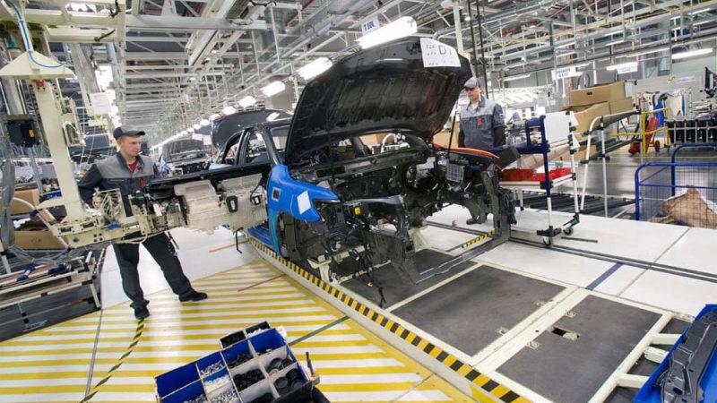 Завод Toyota в Санкт-Петербурге возобновил производство автомобилей