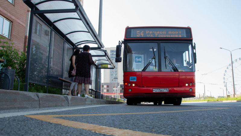 1 июля общественный транспорт в Казани будет работать по графику рабочего дня