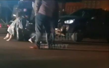 В Казани водитель сбил 7-летнюю девочку, которая перебегала дорогу на красный свет