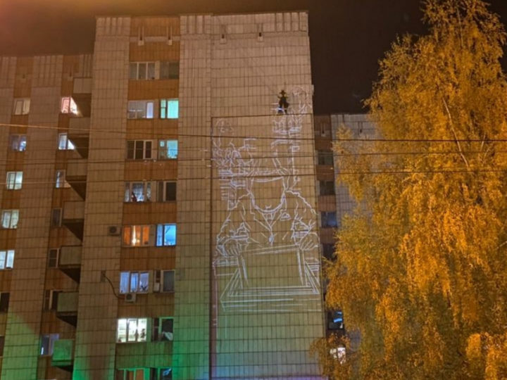 В Казани на фасаде дома по ул.Маршала Чуйкова появится мурал
