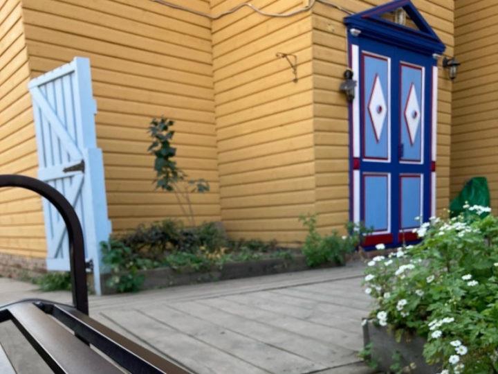 Активисты фестиваля «Том Сойер Фест» завершили основные реставрационные работы в усадьбе Вафы Бигаева