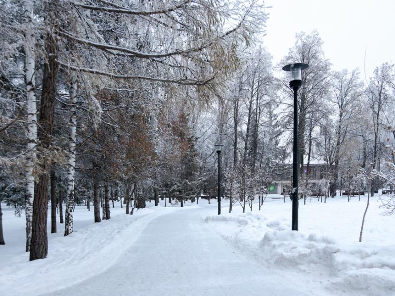 30 декабря в Казани пройдет небольшой снег