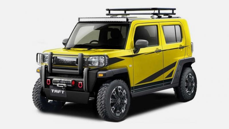 Сразу 5 новинок от Toyota. Уже в январе 2021 года будут представлены самые необычные модели Daihatsu
